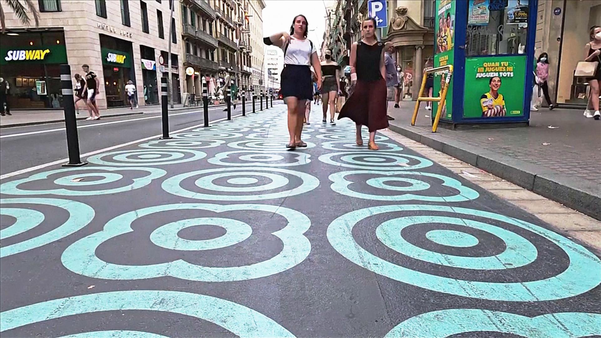 Барселоне станет меньше дорог и больше тротуаров