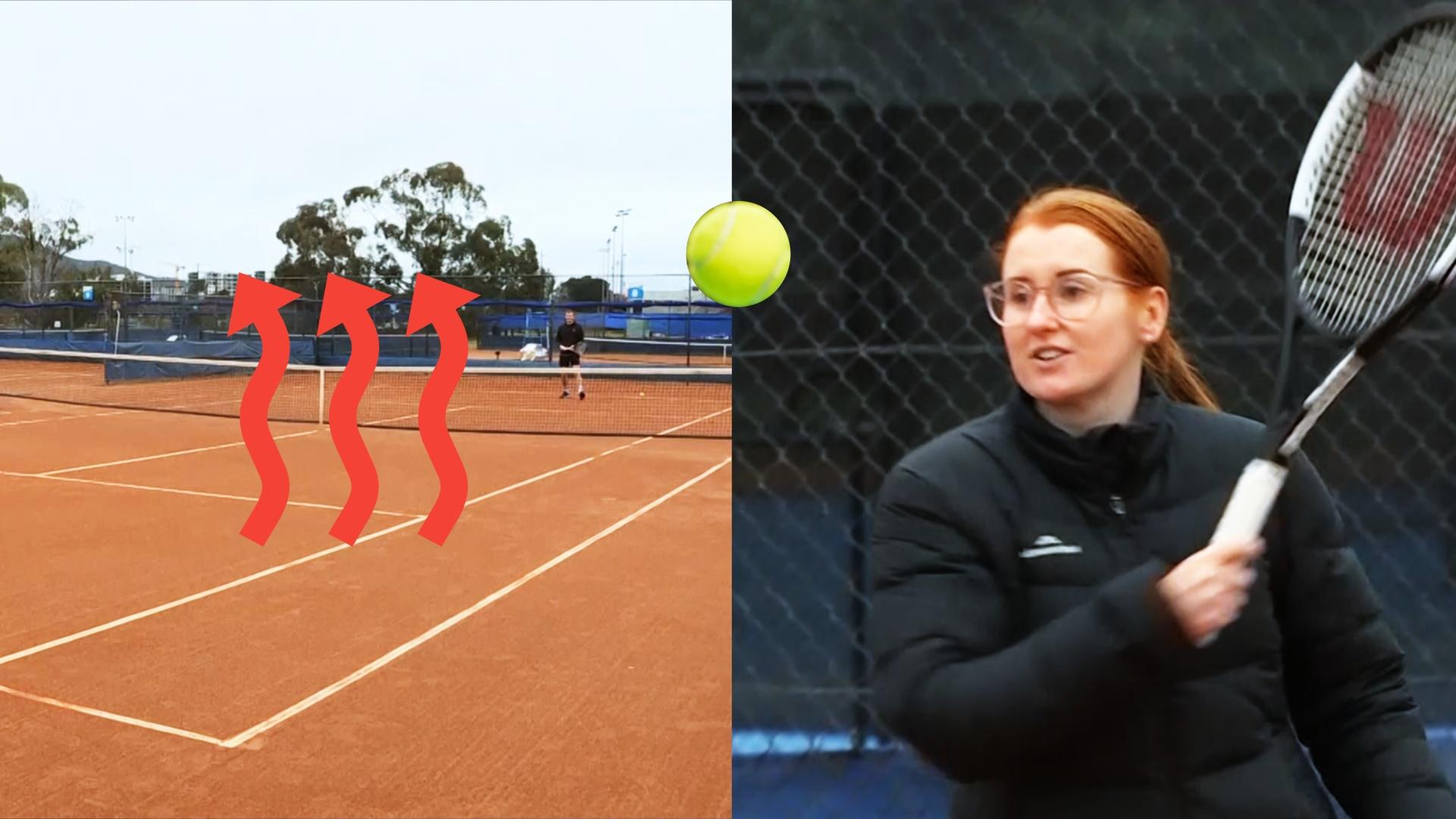 Теннисные корты с подогревом продлили сезон игр в Австралии