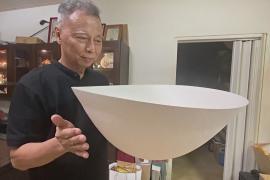 Танцующие миски: гончар из Тайваня создаёт самую тонкую в мире посуду