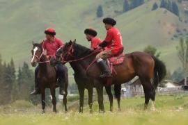 В Кыргызстане прошёл фестиваль, посвящённый наследию предков