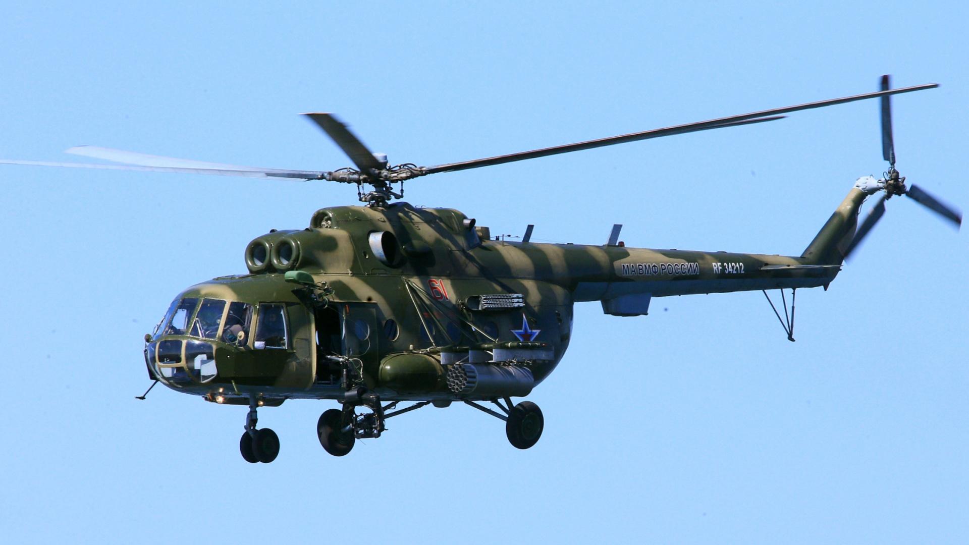 Восемь человек выжили во время крушения вертолёта Ми-8 на Камчатке