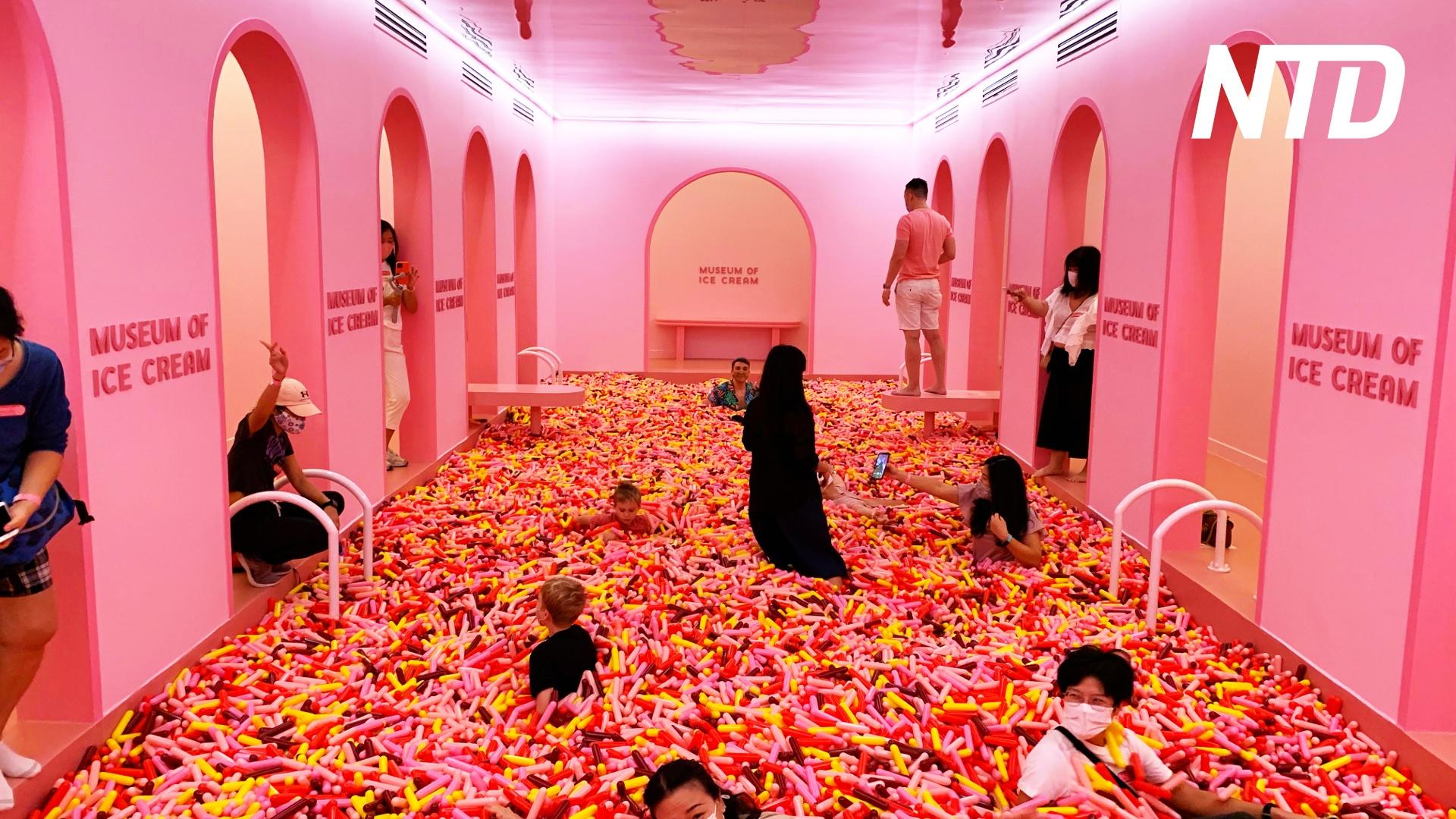 Музей мороженого в Сингапуре: как подсластить выход из локдауна