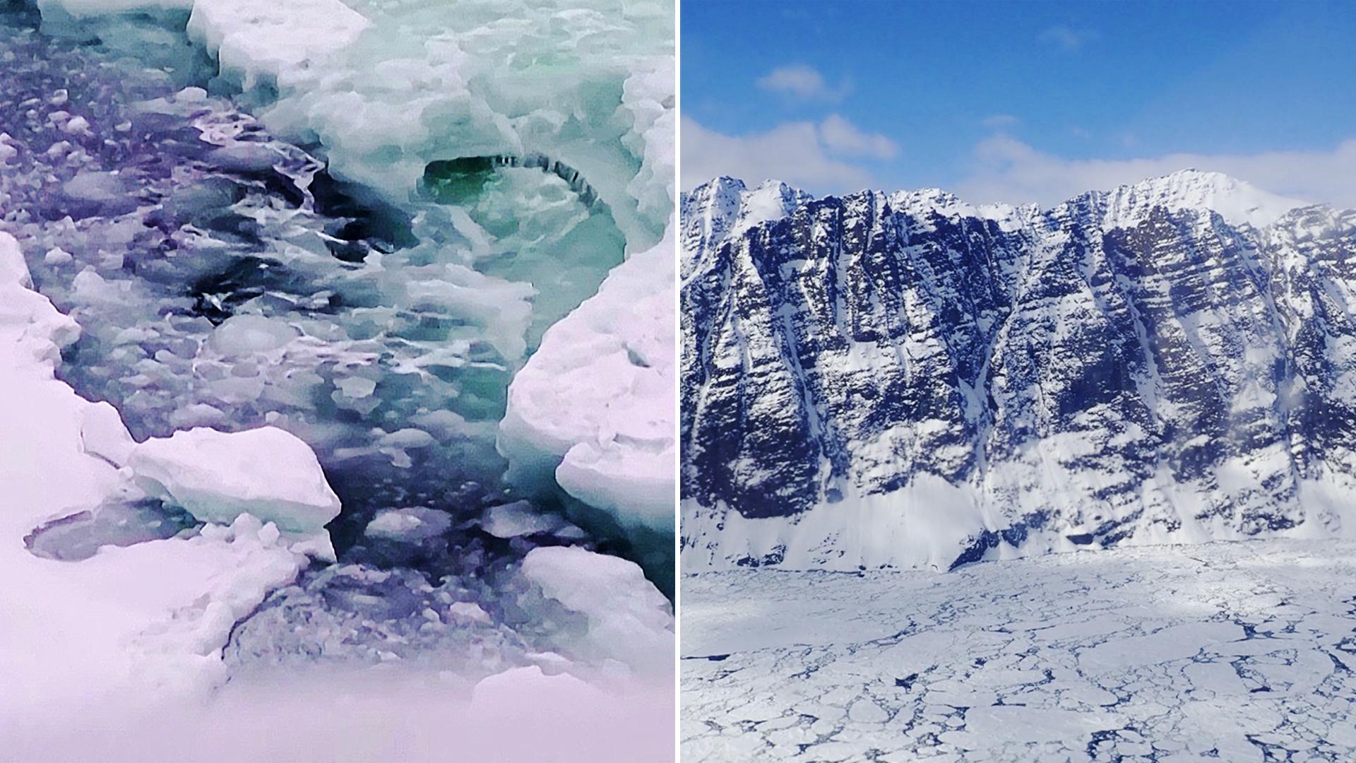 На высочайшем пике Гренландии впервые пошёл дождь
