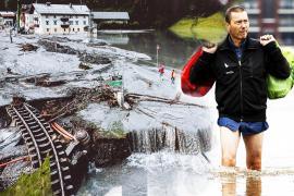 Разрушительные наводнения в Европе теперь на 20% вероятнее