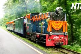 В Индии вновь пустили «игрушечные» поезда по узкоколейной ж/д