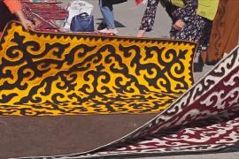 Гигантский узор: как производят уникальные кыргызские ковры