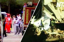 В Испании рухнул жилой дом, ищут выживших