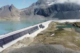 В Швейцарии строят высокогорную солнечную электростанцию