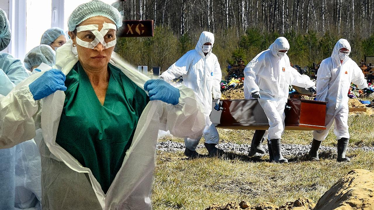 В России – новый антирекорд по числу умерших от COVID-19 за сутки