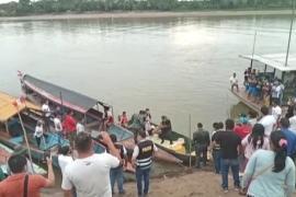 Трагедия на реке в Перу: столкнулись два судна