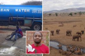 Почему кенийца прозвали «Человек-вода»