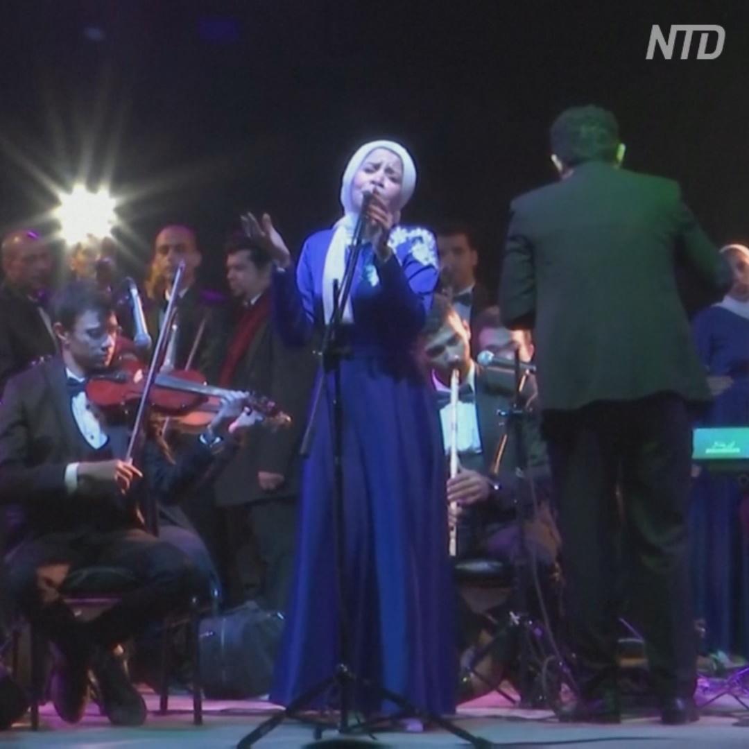 Мобильный театр колесит по бедным районам Египта