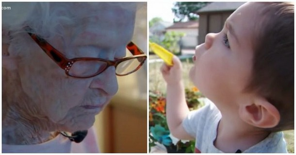 Как 99-летняя бабушка нашла друга, сидя на карантине