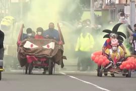Гонки «сумасшедших авто» устроили на улицах Лимы