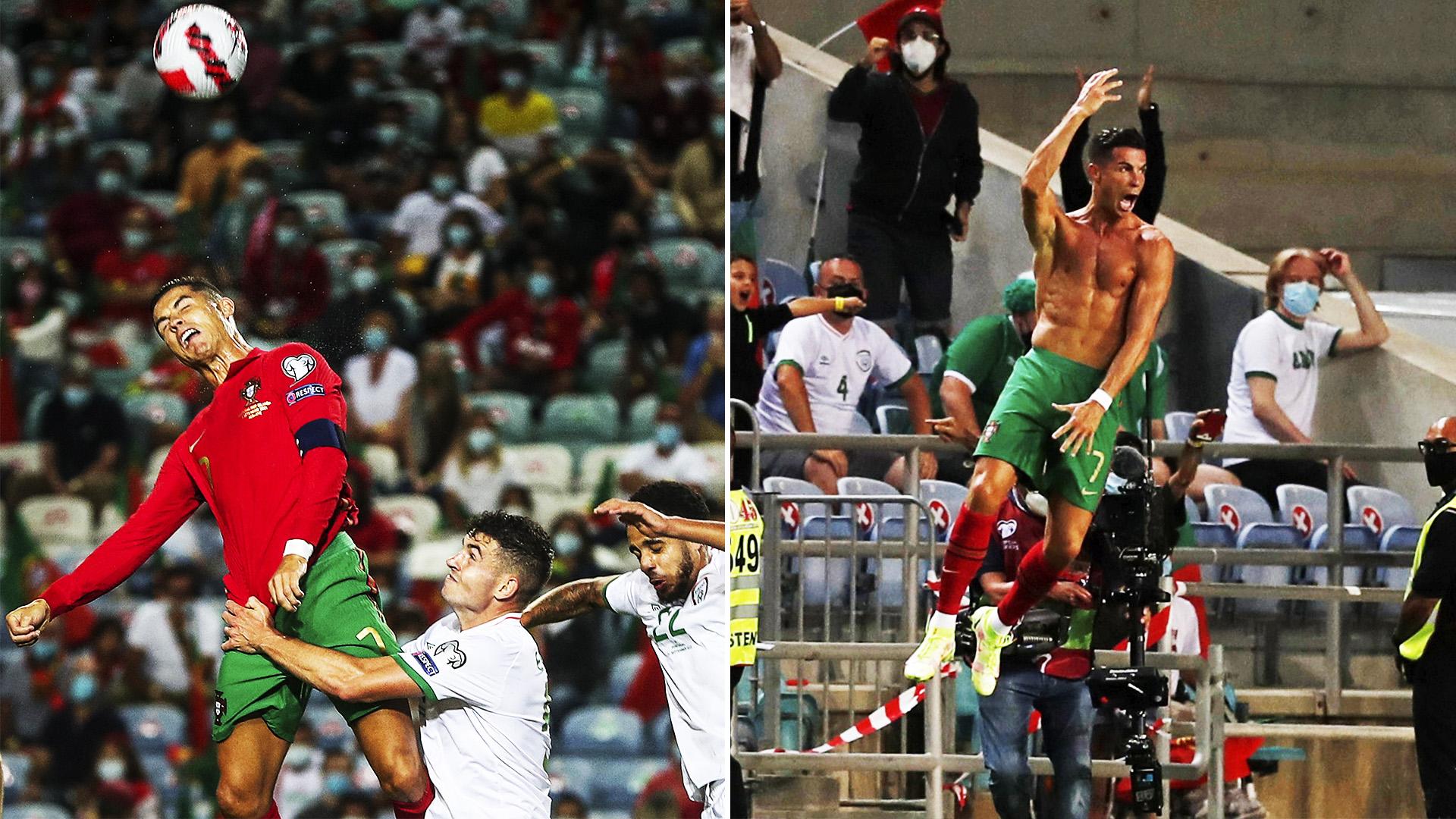 Как Роналду забил 111-й гол и стал лучшим бомбардиром национальных сборных