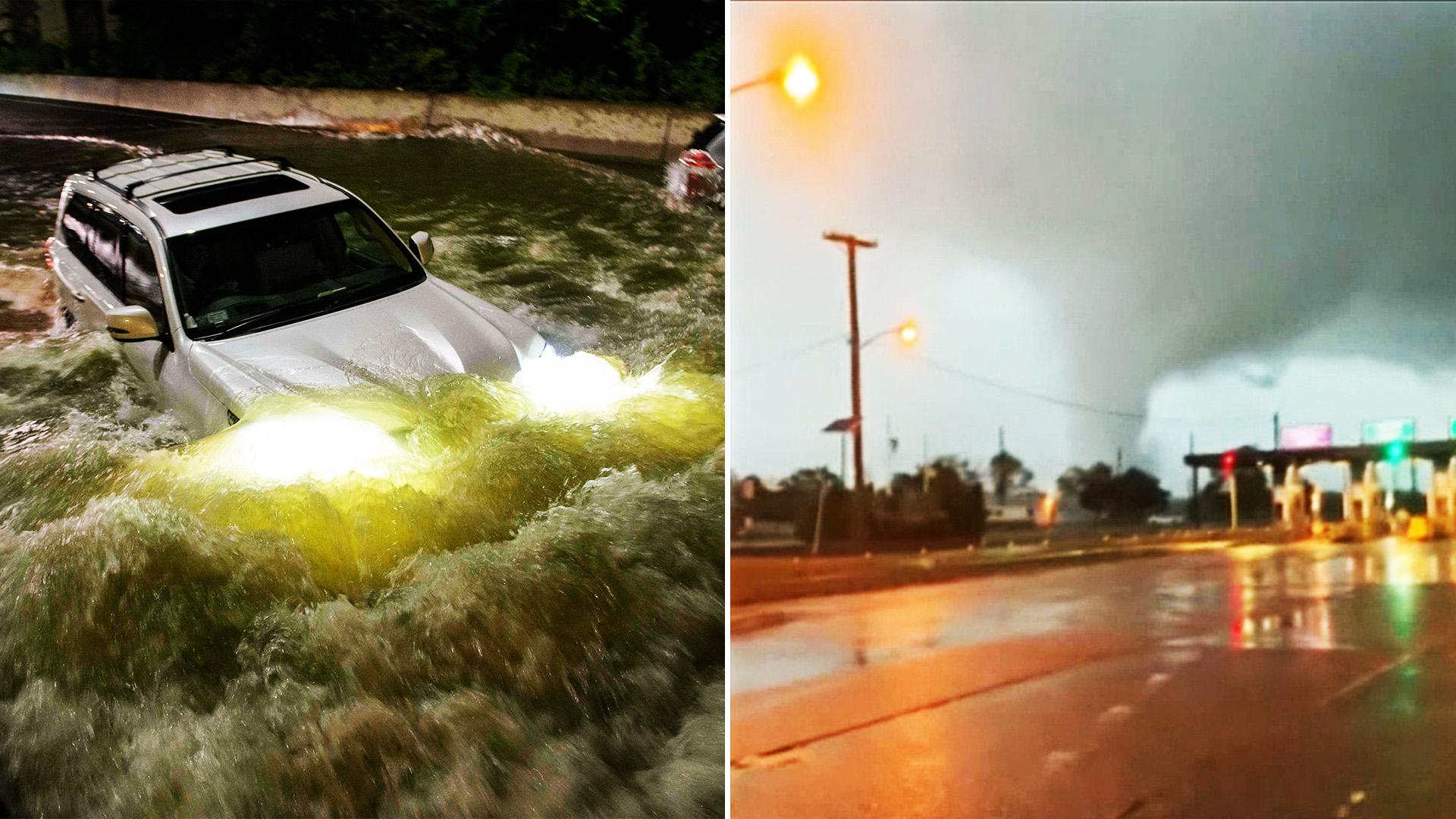 Затихающий ураган «Ида» принёс ветра, ливни и торнадо