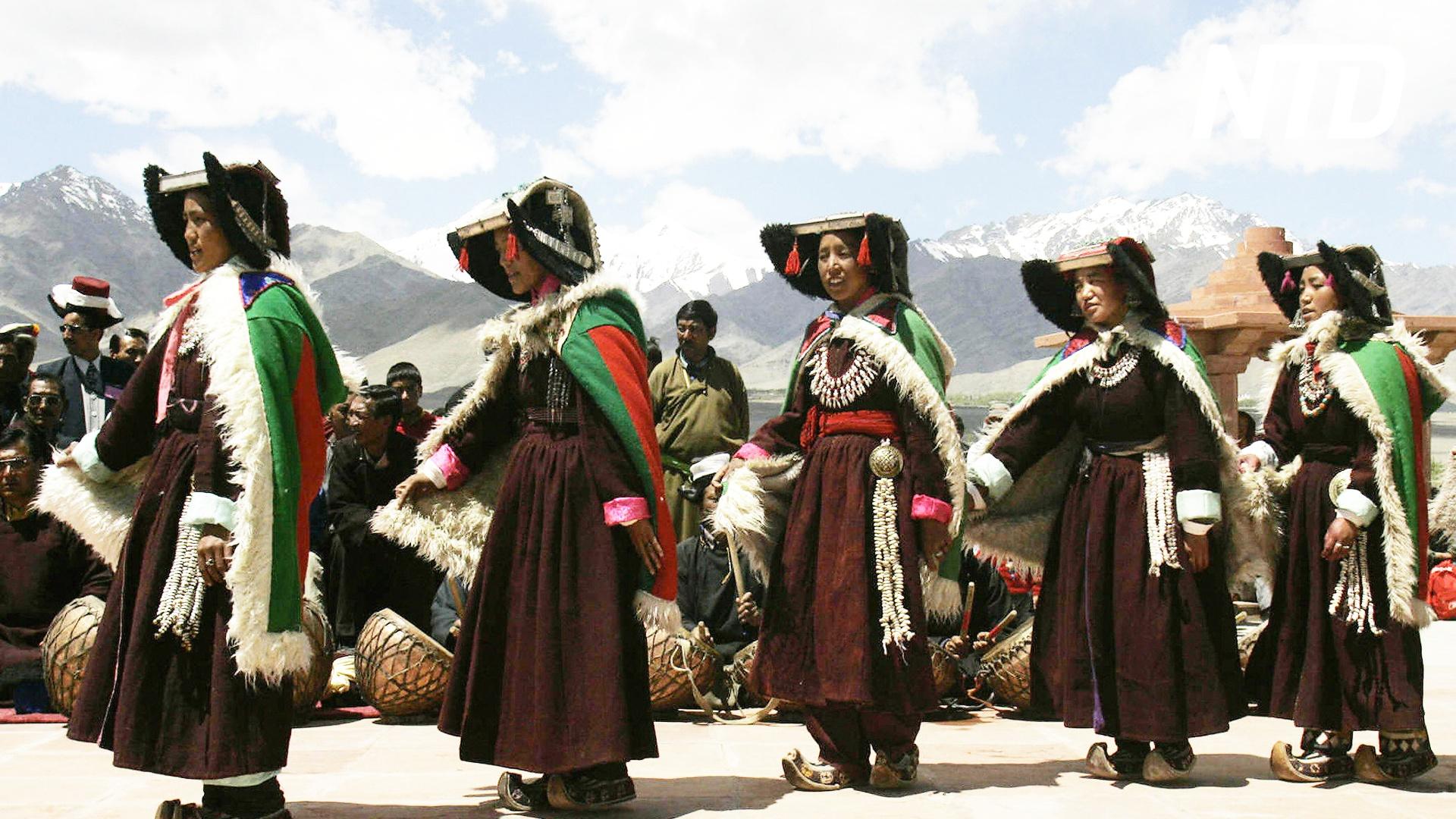 Как жили кочевники в Ладакхе, показали на фестивале в Индии