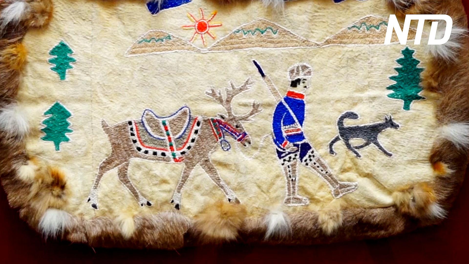 Из чего делают ковры коренные народы Дальнего Востока