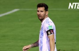 Лионель Месси порадовал игрой венесуэльских болельщиков в Каракасе