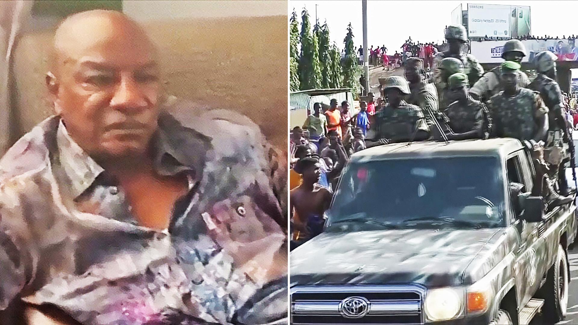 Военные Гвинеи свергли 83-летнего президента