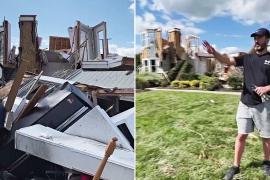 После торнадо: как семья чудом выжила во время урагана «Ида»
