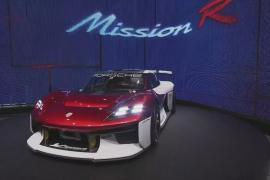 Автошоу в Мюнхене: Porsche представила электрический спорткар Mission R