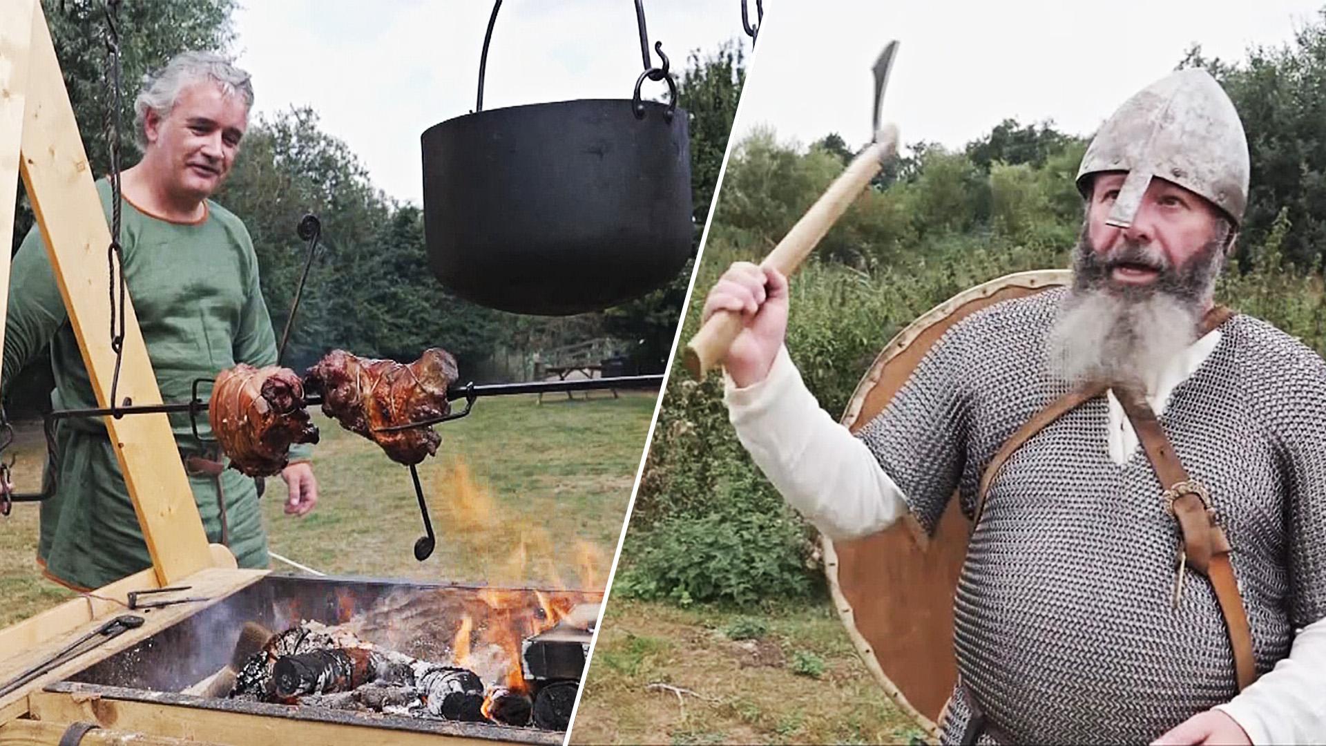 Как жили викинги, показали на фестивале в Англии