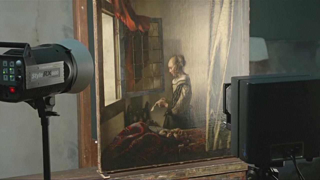Меркель открыла крупнейшую в Германии выставку картин Яна Вермеера