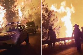 В пожарах в Испании погиб пожарный