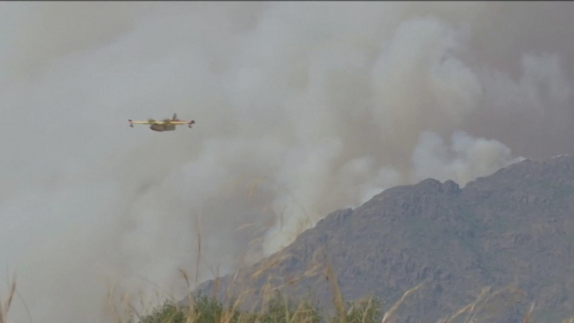 В Андалусии бегут от лесных пожаров