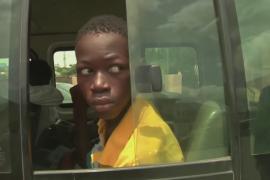 75 нигерийских детей освободили из плена боевиков и вернули домой