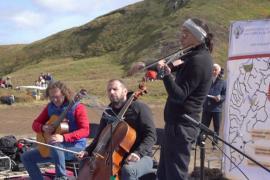 Концерт на вулкане Камчатки: классическая музыка в дикой природе
