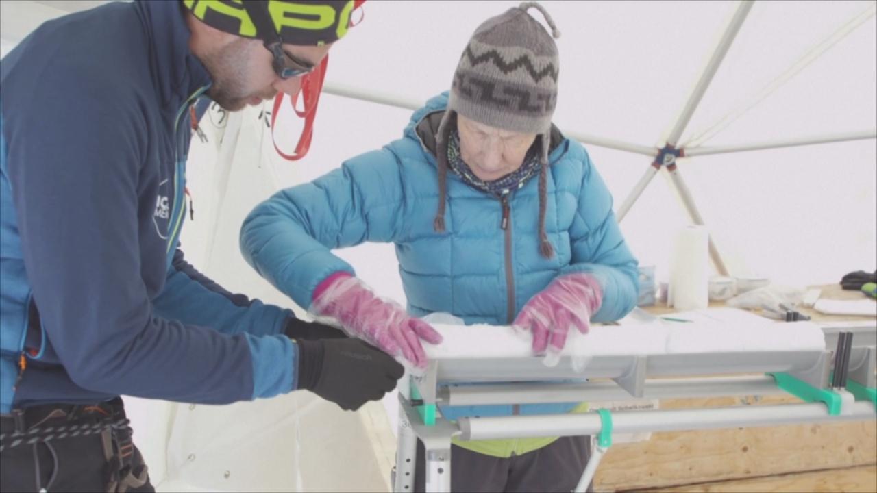Учёные начали гонку со временем, собирая древний лёд