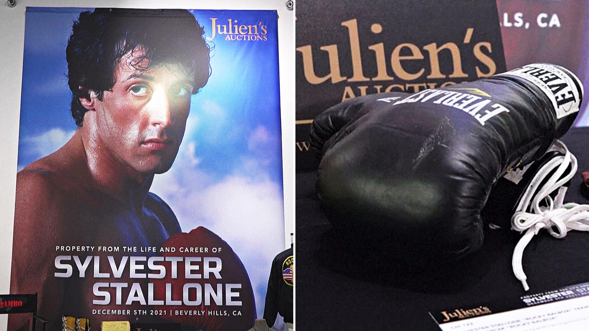 Реквизит из фильмов со Сталлоне продадут на аукционе