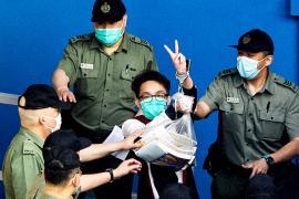 Девятерых активистов Гонконга приговорили к месяцам тюрьмы