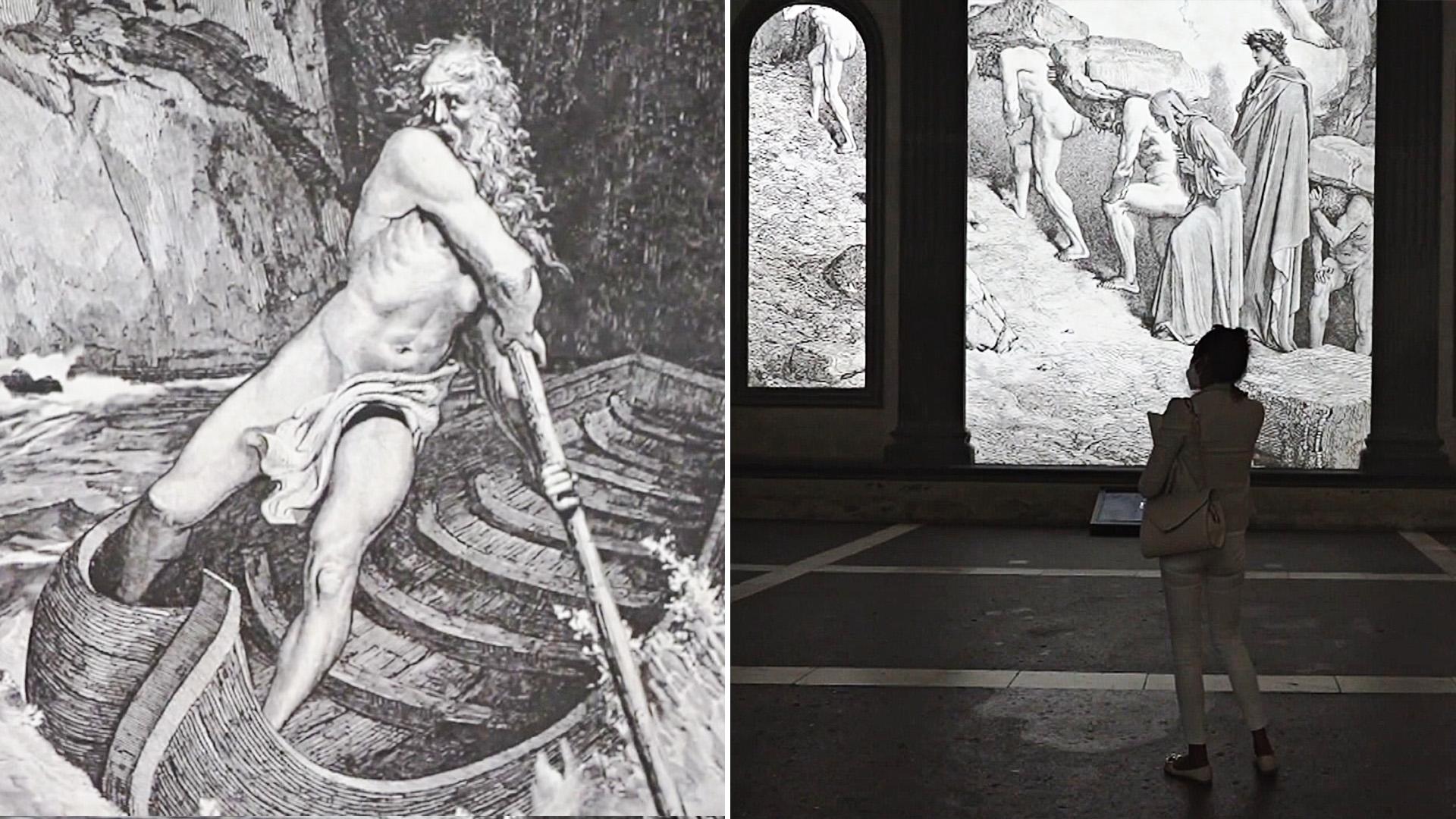 «Божественную комедию» Данте переложили в 3D-анимацию