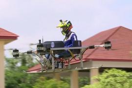 Аэротакси и пожарный дрон: камбоджийские студенты проектируют беспилотники