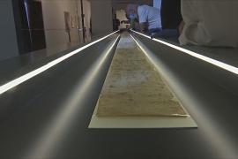 11-метровый турсправочник XIV века впервые показали в Иерусалиме