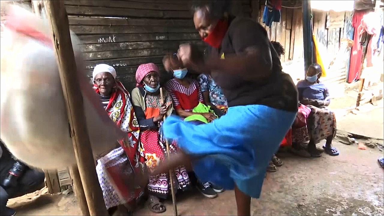 Как кенийские бабушки учатся защищаться от домогательств