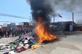 Венесуэльских мигрантов напугал гневный протест чилийцев