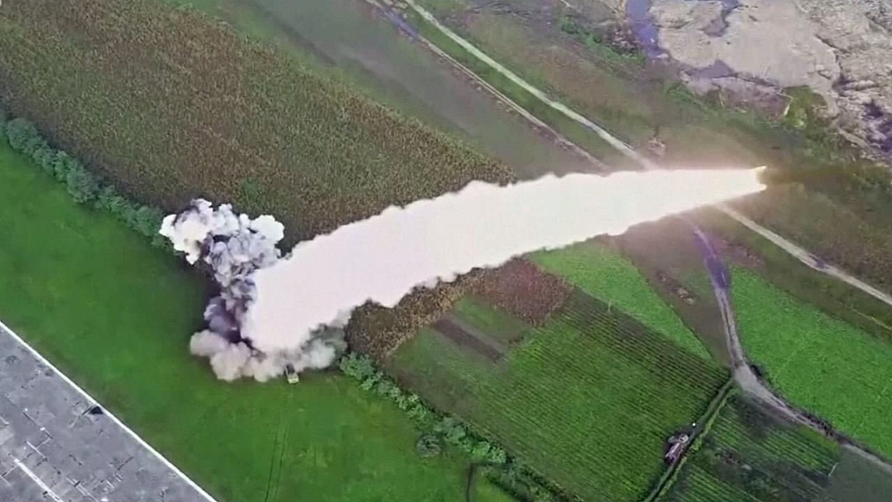 Северная Корея запустила неопознанный объект