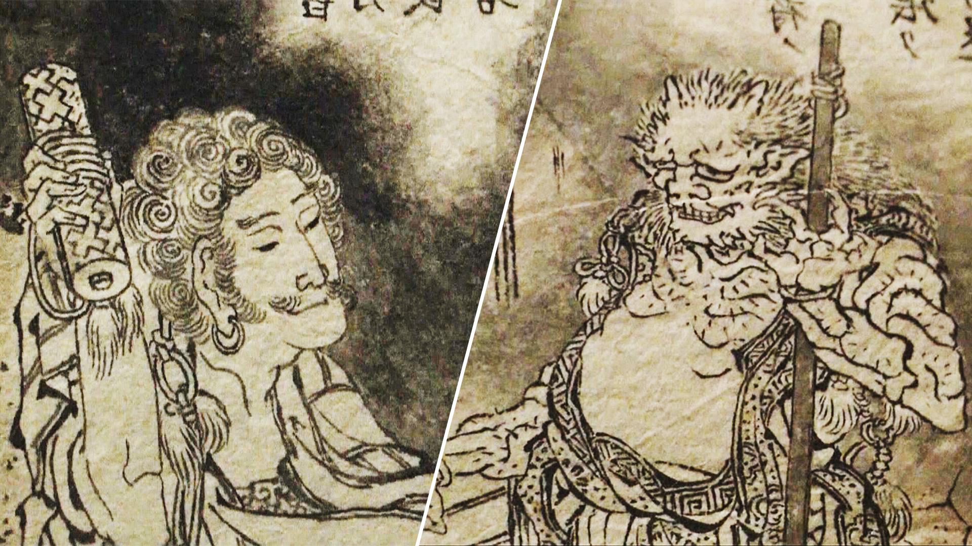 Иллюстрации знаменитого художника Хокусая впервые показали публике