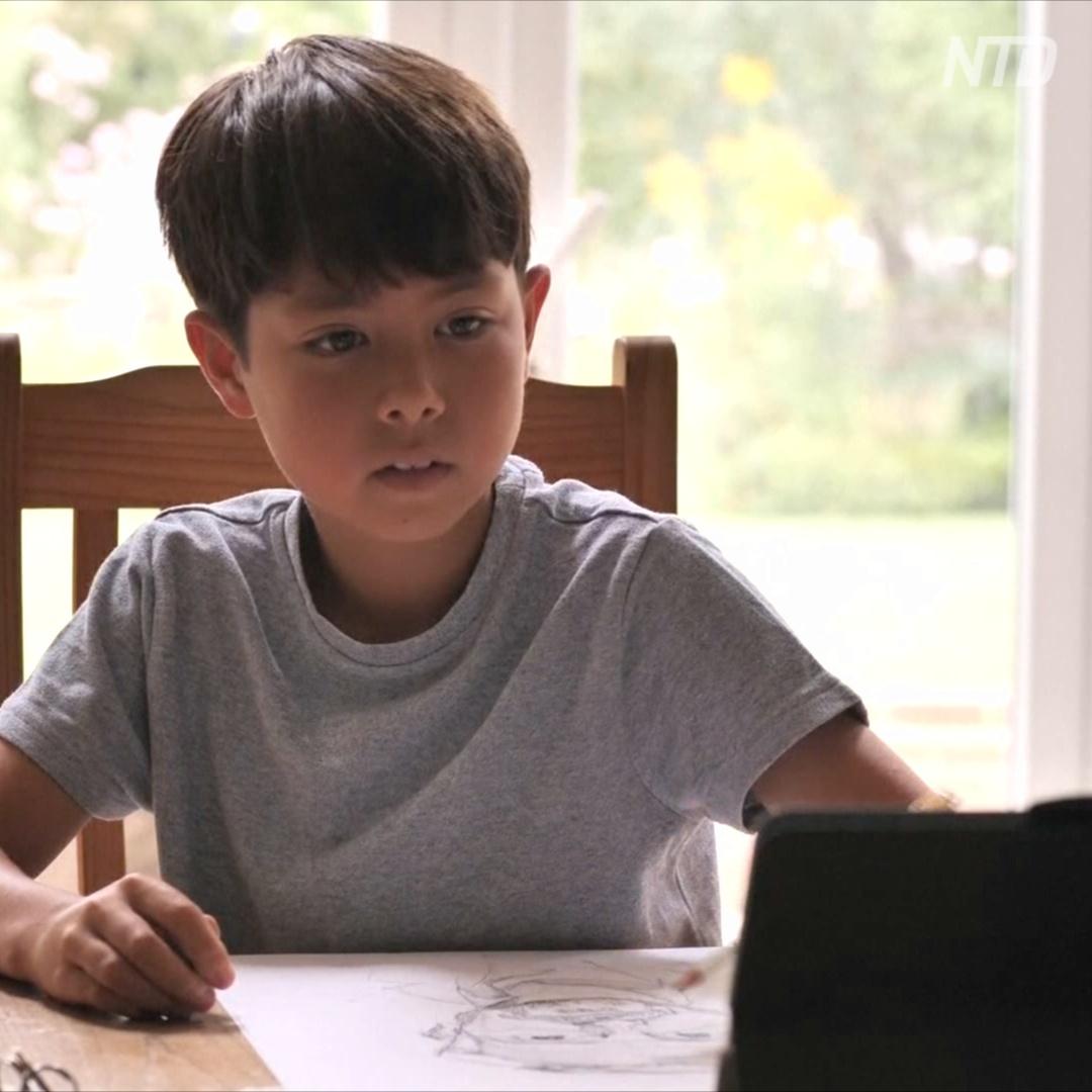 Почему 9-летнего художника прозвали Да Винчи