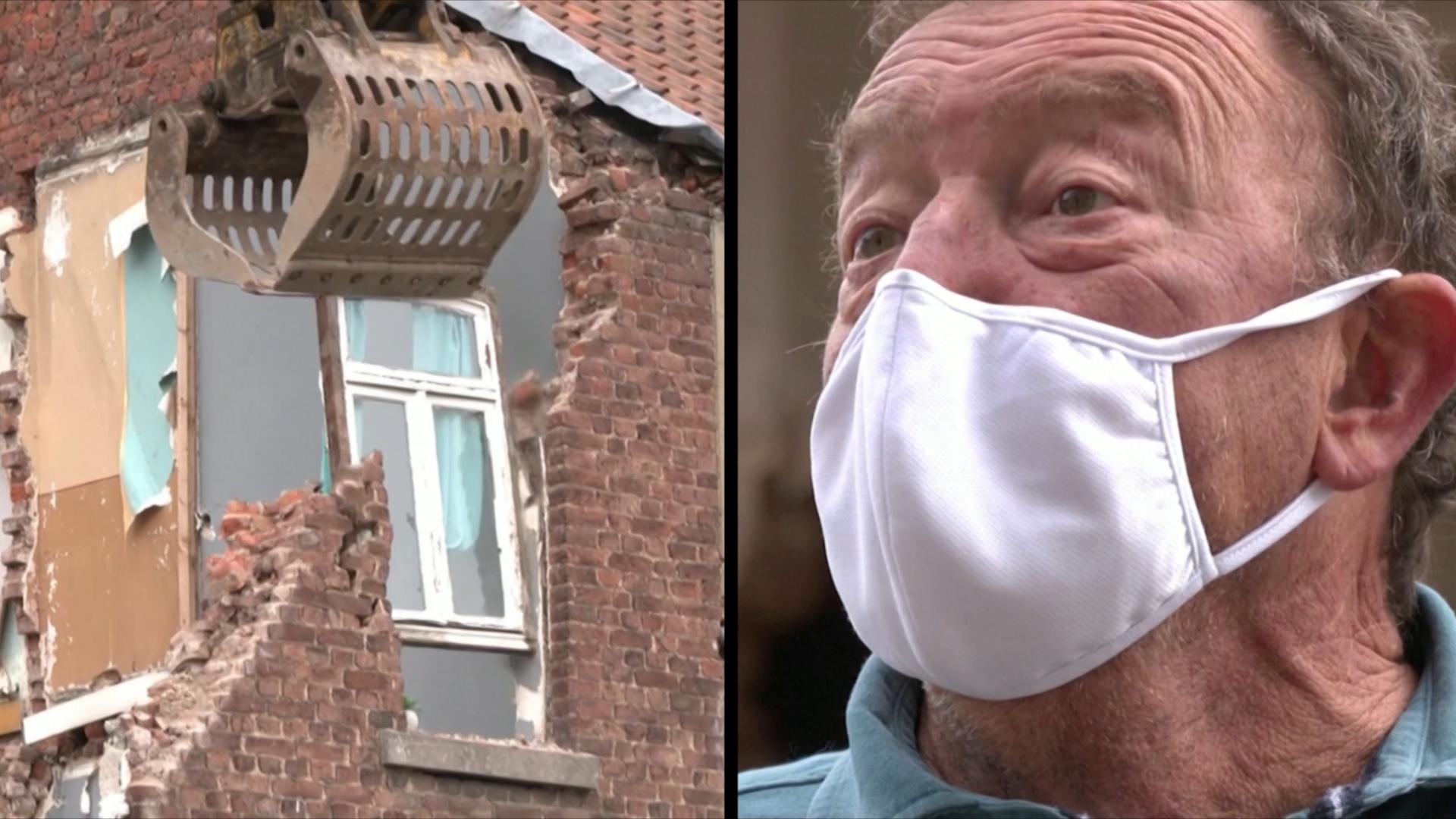 «Это сложно пережить»: в Бельгии сносят дома, повреждённые наводнением
