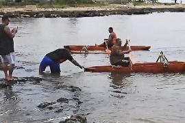 Рыбаки пересели на каноэ ради рифов