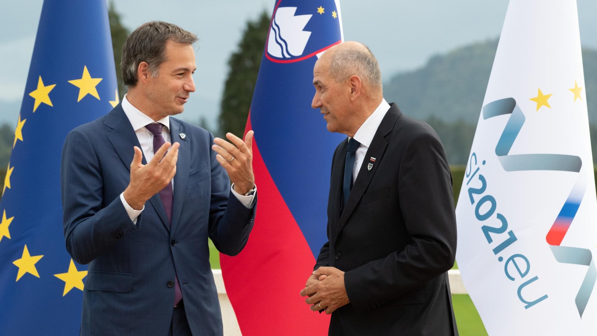 Лидеры ЕС обсудили отношения с Китаем и США на неформальной встрече в Словении