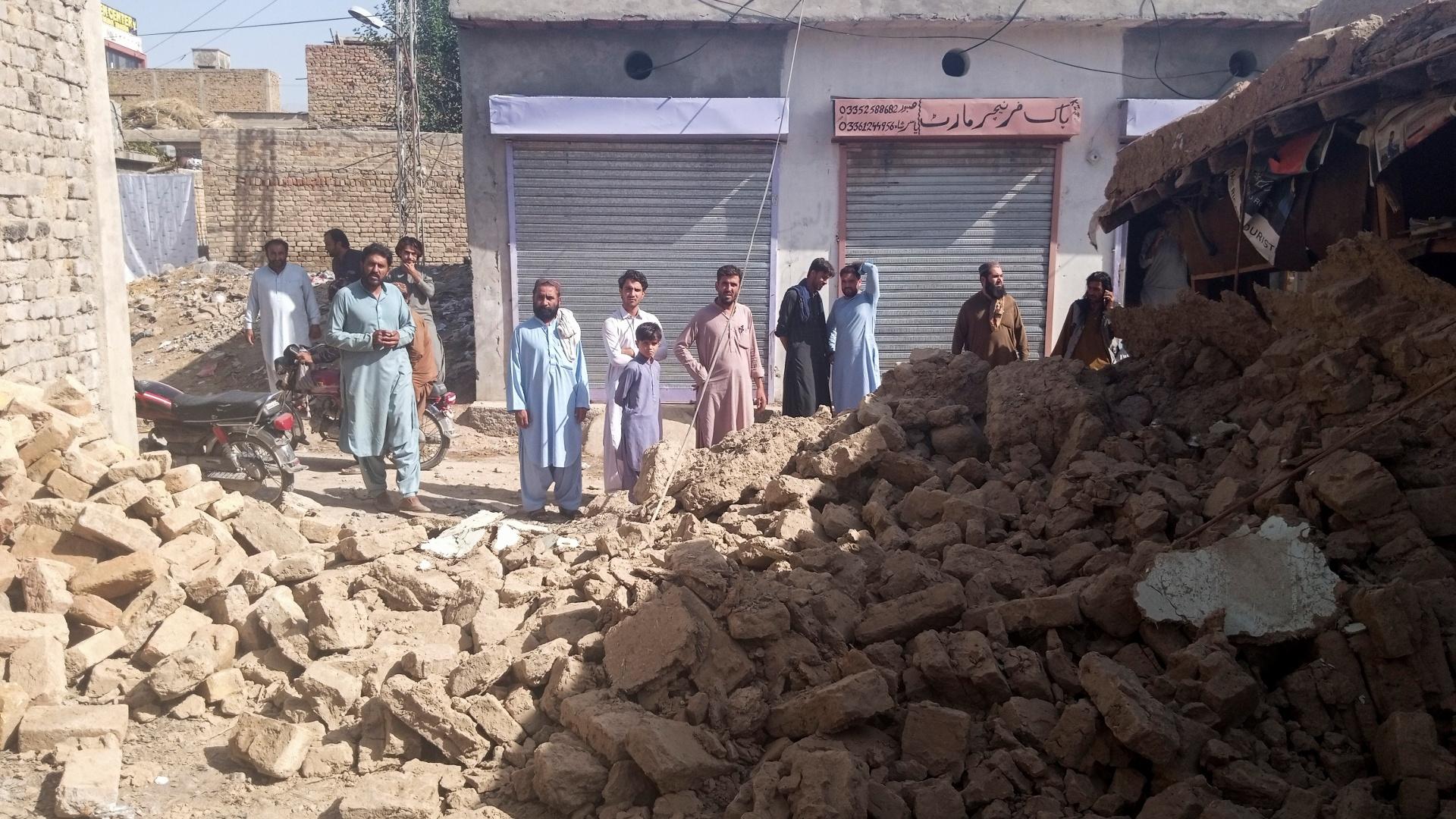 Землетрясение в Пакистане: не менее 20 погибших