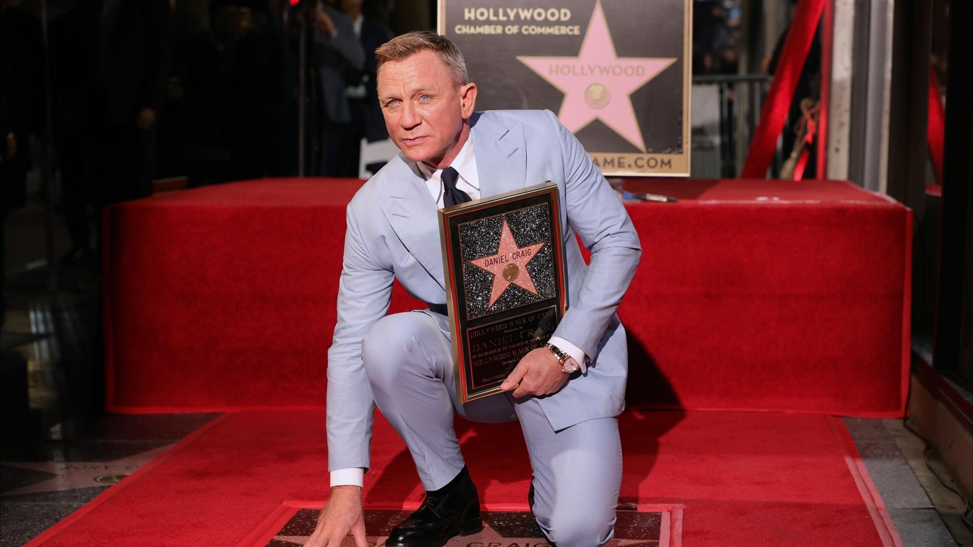 Дэниел Крейг получил звезду на голливудской Аллее славы