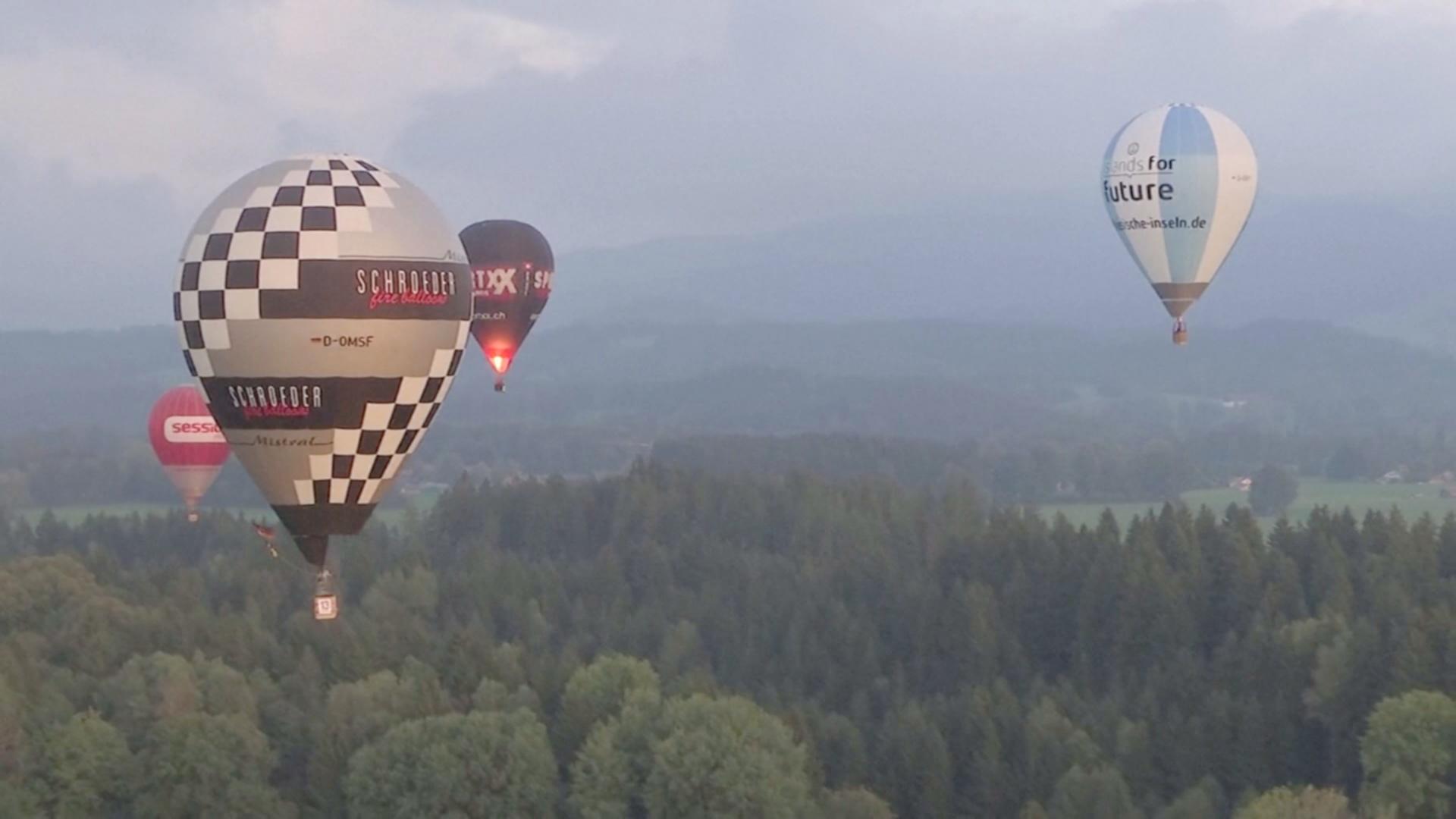 Асы воздухоплавания встретились на фестивале в Германии
