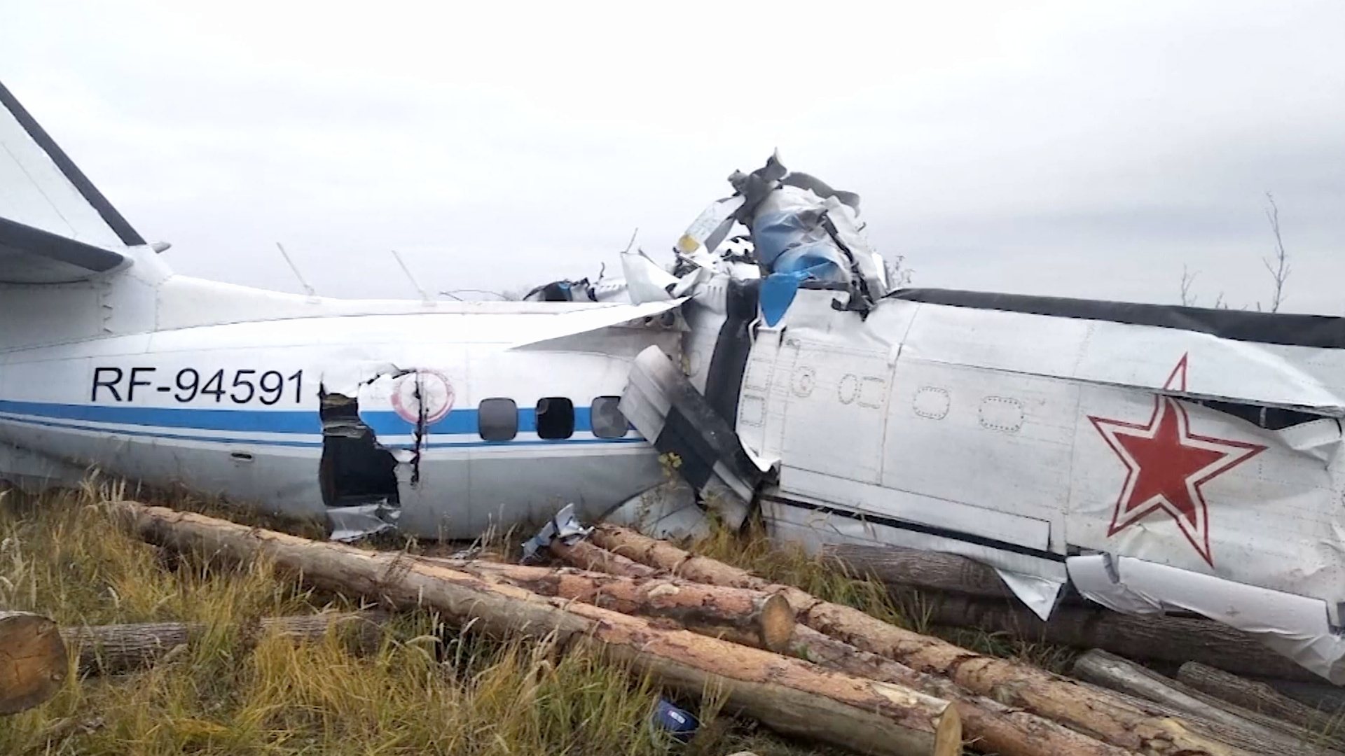 В Татарстане разбился самолёт с парашютистами